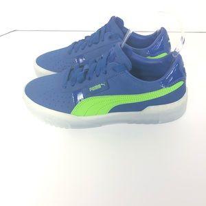 New Puma Platform Blue Comfort Shoe Sneakers. 8